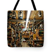 Antique Time Tote Bag