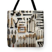 Antique Tools Tote Bag