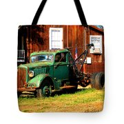 Antique Tow Truck Tote Bag