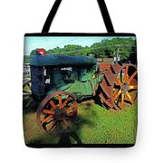Antique Tractor 3 Tote Bag