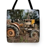 Antique Tractor Tote Bag