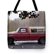 Antique Truck Tote Bag