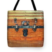 Antique Trunk Tote Bag