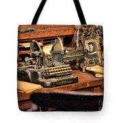 Antique Typewriter Tote Bag
