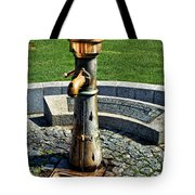 Antique Water Fountain Tote Bag