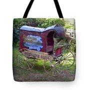 Antique Wine Wagon Tote Bag