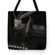 Antique Writing Tote Bag
