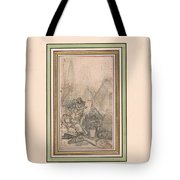 Antiquities Of Egypt Tote Bag