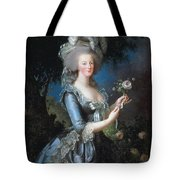 Antoinette With The Rose Marie Tote Bag
