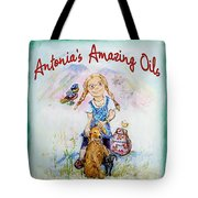 Antonia's Amazing Oils Tote Bag