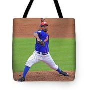 Antonio Bastardo New York Mets Tote Bag