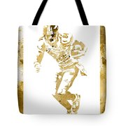 Antonio Brown Pittsburgh Steelers Water Color Art 4 Tote Bag