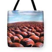 Ant's Eye View Of Sand Tote Bag