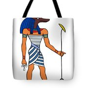 Anubis Tote Bag by Michal Boubin