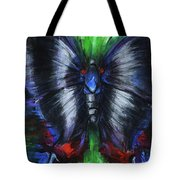 Anxious Butterfly Tote Bag