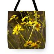 Anza Borrego Desert Sunflowers 1 Tote Bag