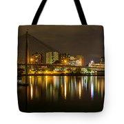 Anzac Bridge By Night Tote Bag