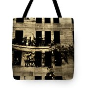 Anzac Pictures Projected In Martin Place 20 Tote Bag