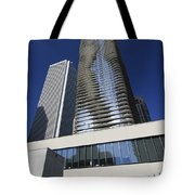 Aon And Aqua Tote Bag