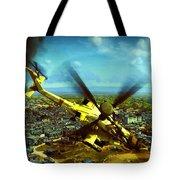 Apache Ai Assault - Operation Osama Tote Bag