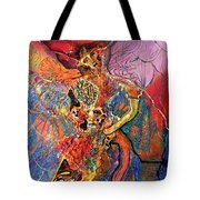 Apache Cosmogony  Tote Bag