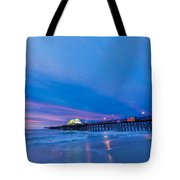 Apache Pier At Sunrise Tote Bag