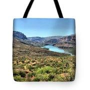 Apache Trail - Salt River - Arizona Tote Bag