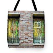 Apartment Window Tote Bag