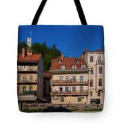 Apartments By The Ljubljanica River In Ljubljana Tote Bag