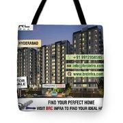 Apartments For Sale In Gachibowli, Manikonda, Hyderabad Tote Bag