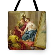 Apelles In Love With The Mistress Of Alexander Tote Bag