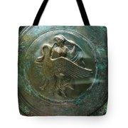 Aphrodite With Swan Tote Bag