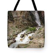 Apikuni Falls Tote Bag by Margaret Pitcher