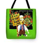 Apocalyptic Chef Tote Bag