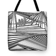 Apocalyptic Ringside View Tote Bag