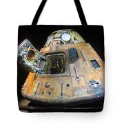 Apollo 14 Command Module Kitty Hawk Tote Bag
