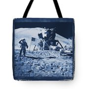 Apollo 15 Mission To The Moon - Nasa Tote Bag