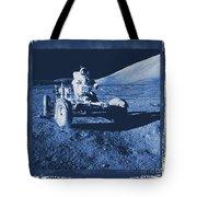 Apollo 17 Lunar Rover - Nasa Tote Bag