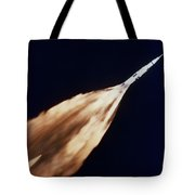Apollo 6 Spacecraft Leaves A Fiery Tote Bag
