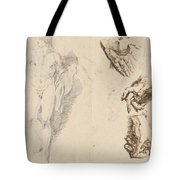Apollo And Studies Of The Artist's Own Hand [recto] Tote Bag