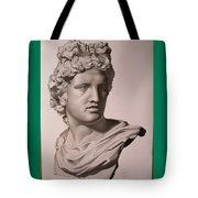 Apollo Bust Drawing Tote Bag