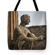 Apollo In Pompeii Tote Bag
