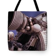 Apollo Rocket Engine Tote Bag