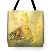 Apollo With The Hours Tote Bag