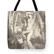 Apollon Et Daphne Tote Bag