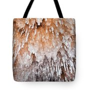 Apostle Islands Icicle Cave Tote Bag