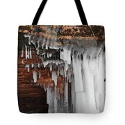 Apostle Islands Icicles Tote Bag