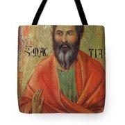 Apostle Matthias 1311 Tote Bag
