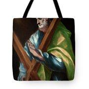 Apostle Saint Andrew Tote Bag