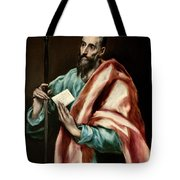 Apostle Saint Paul Tote Bag